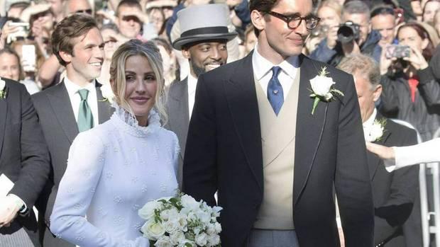 Ellie Goulding OPENS UP on her secret wedding with Caspar Jopling
