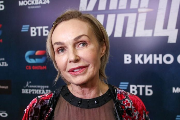 Actress Natalia Andreichenko came to the relationship