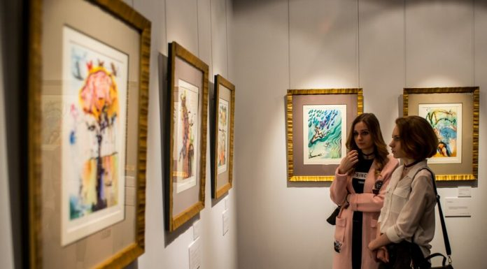 """Moscow online: tour of the exhibition """"Salvador Dali. Magical art"""""""