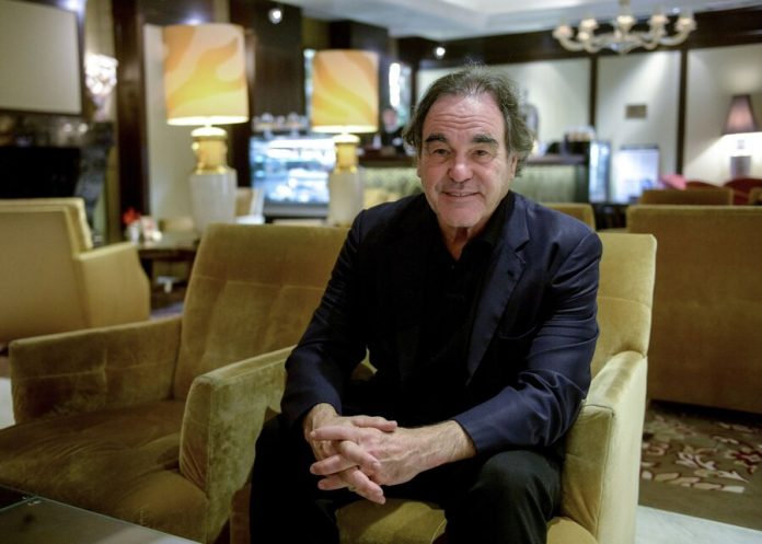Oliver stone called the U.S. a