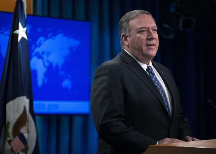 Pompeo said that the U.S. is ready to take action against Assad
