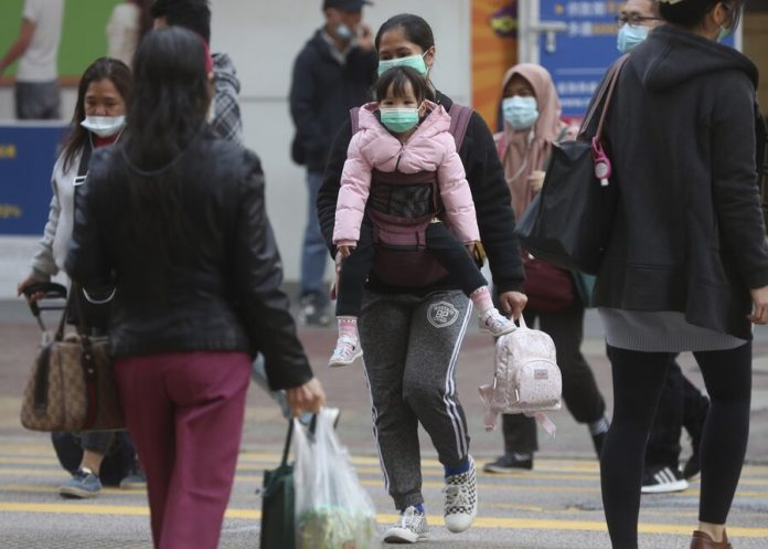 Shipments of smartphones from China was suspended due to coronavirus
