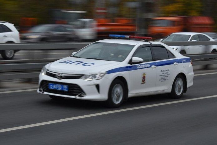 The driver brought down the pedestrian in Central Moscow