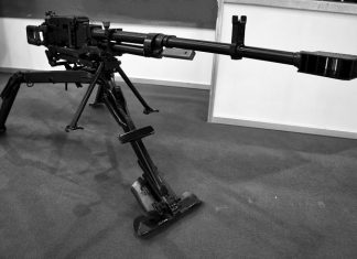 A Russian machine gun called the best in the world