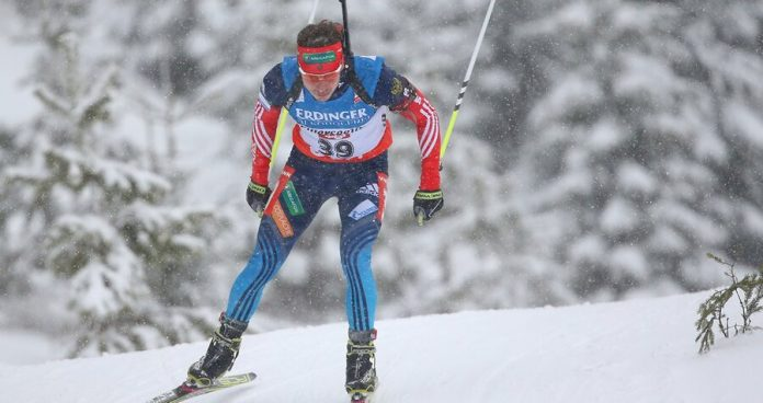 Biathlete Ustyugov found guilty of a doping violation