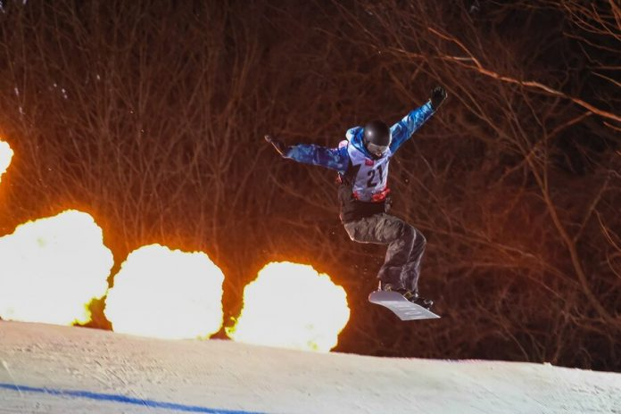 Big carnival for skiers and snowboarders on Vorobyevy Gory