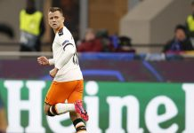 Cheryshev scored a goal in the match of 1/8 final of the Champions League against Atalanta