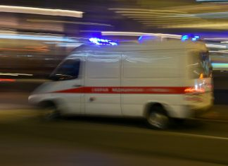Child killed in road accident near Tula