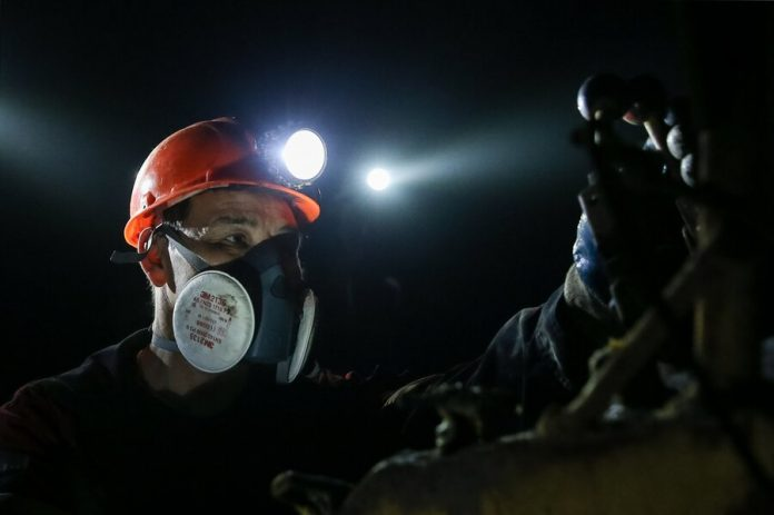 More than 200 miners were evacuated from the mine in Belgorod region
