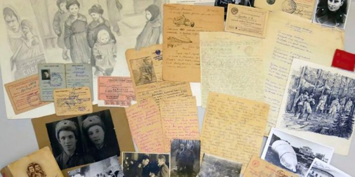 Of glavarkhiv Moskvy told about the love letters from the front