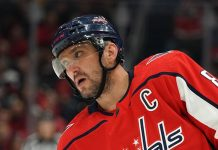 Ovechkin scored his 700-th washer in the NHL