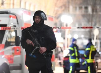 Police found the body of the alleged shooter in the German Hanau