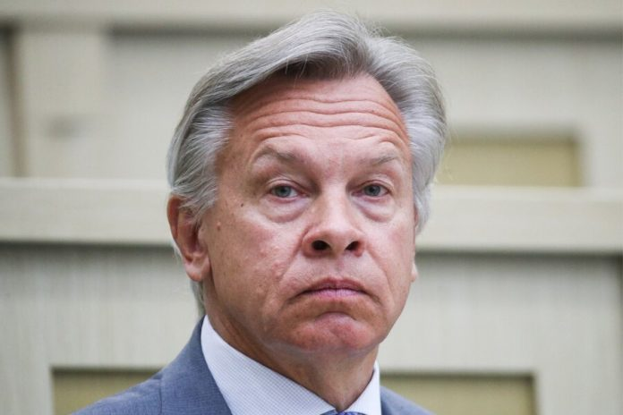 Pushkov appreciated the statement of the foreign office about Putin's words about