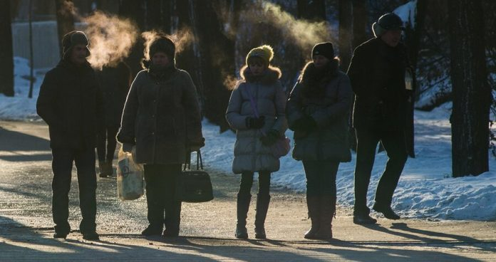 Severe frosts will return to Russia in March