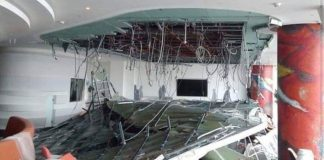 Sheremetyevo commented on the picture of the ceiling collapsed at the airport
