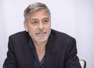 The estate of George Clooney was flooded after hurricane