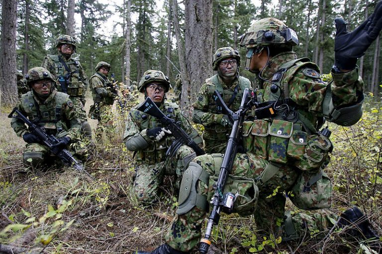 """The self-defense forces of Japan: the threat to Russia of Japanese """"army"""""""