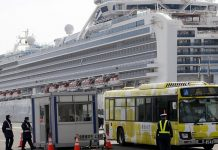 Two more Russians with ship Diamond Princess was infected with coronavirus