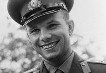 What gifts were given to Gagarin for space flight