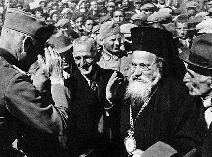 Why Athos monks supported Hitler
