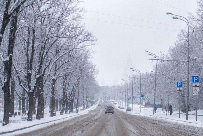 Yellow level weather risk announced in Moscow