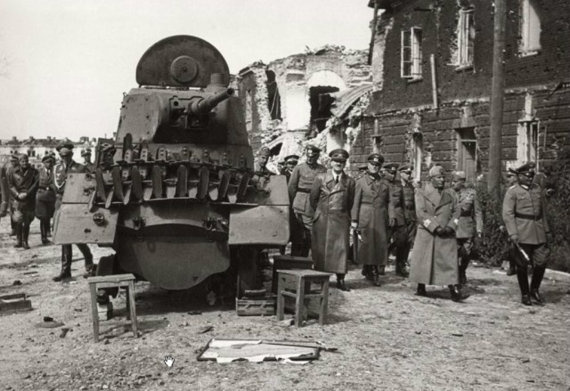How many Chechens defended the Brest fortress in 1941