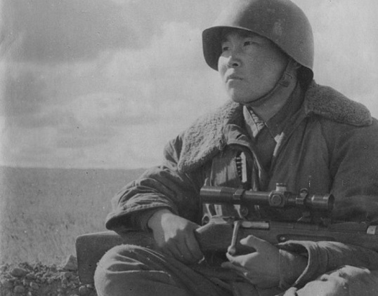 Maxim Passar: how Nanai was the most effective sniper of Stalingrad