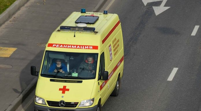 One person was injured in an accident with a truck on the ring road