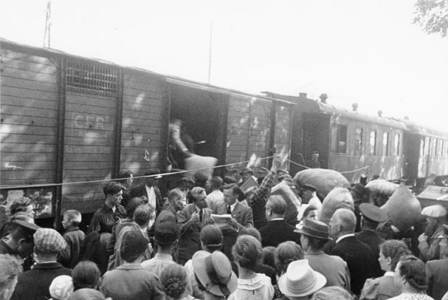 Some residents of the Pskov region, Stalin deported to Siberia in 1950