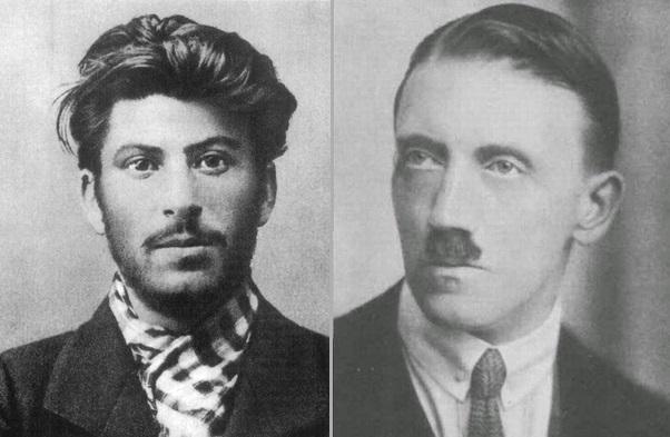 Stalin lived in Vienna next to Hitler
