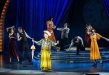 The Minister of culture read Stanislavsky in theatre Day