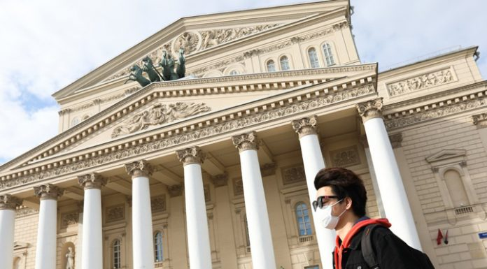 The Russian theatre was struck by seven virus