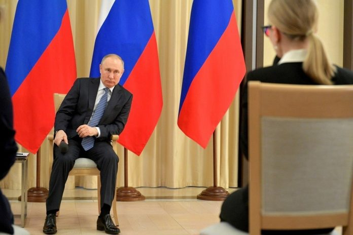 What is the consequence of a left turn Putin