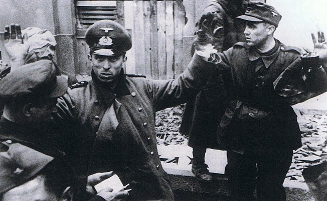 Why did the SS soldiers feared Soviet captivity