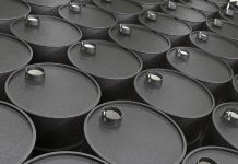 Brent crude oil rose to 36.29 per barrel