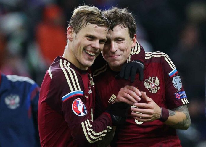 Cherchesov has told about prospects of Kokorin and Mamaev in the national team of Russia on football
