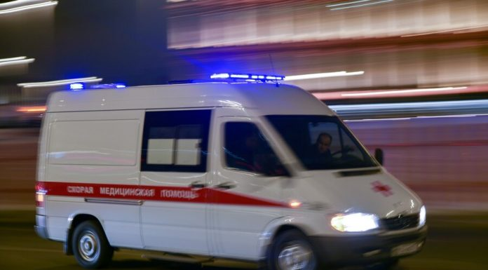 In Moscow the girl fell from the 9th floor and survived