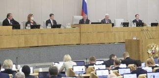 In the state Duma has developed an unprecedented picture with the coronavirus