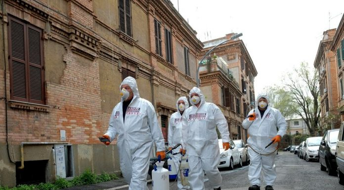 More than 680 people with the coronavirus had died during the day in Italy