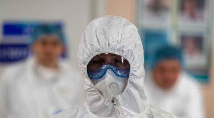 On sports base in Novogorsk identified case of infection with coronavirus