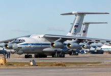 The first Russian aircraft flew out to Serbia to help in the fight against COVID-19