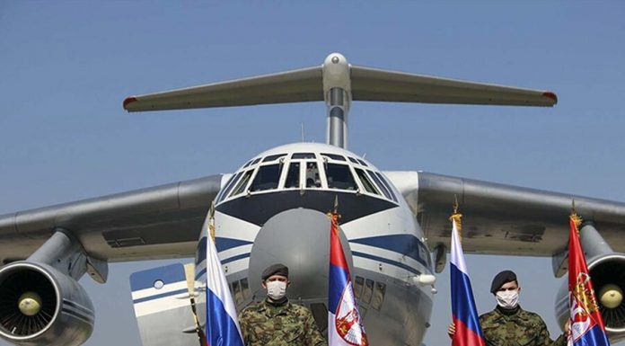 The last three aircraft of Russian air force flew to Serbia
