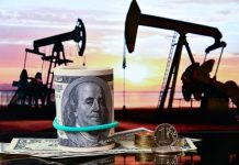The price of Brent crude oil exceeded $ 34