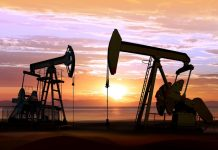 The price of Brent crude oil fell to 31.69 USD per barrel