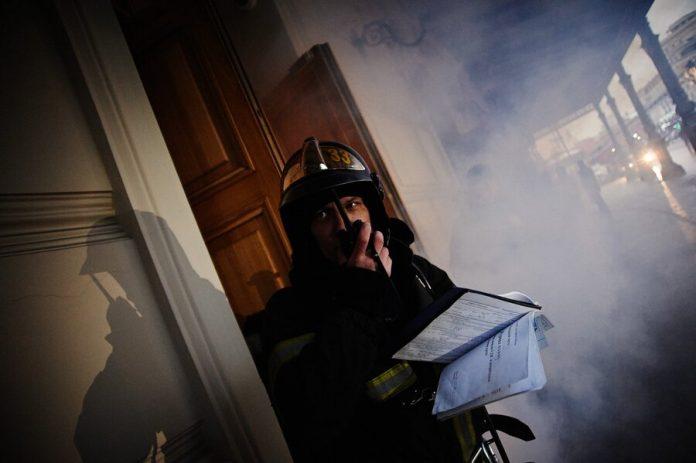 Three people died in a fire in a residential building in Krasnoyarsk region