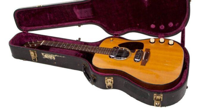Kurt Cobain: legendäre Gitarre wird versteigert