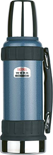 Thermos TherMax Robuste Thermosflasche, 1,2 l, blau