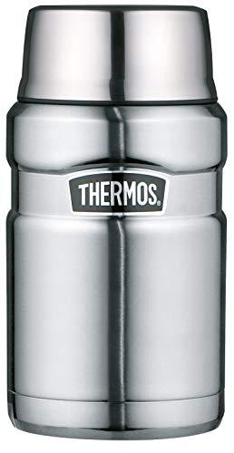 THERMOS Stainless King Speisegefäß, Edelstahl mattiert, 0,71 Liter
