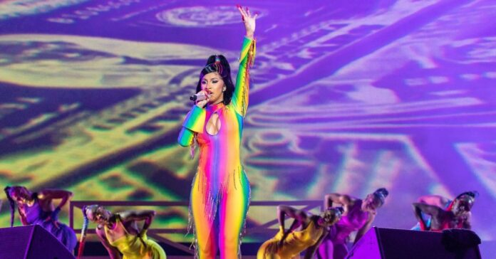 Cardi B dresses daughter Kulture in rainbow dress for Pride month